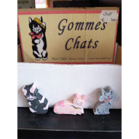 gommes chats