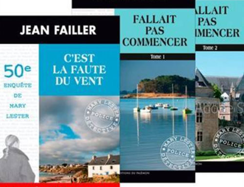 Jean Failler – Pack 3 tomes pour le 50e Mary Lester